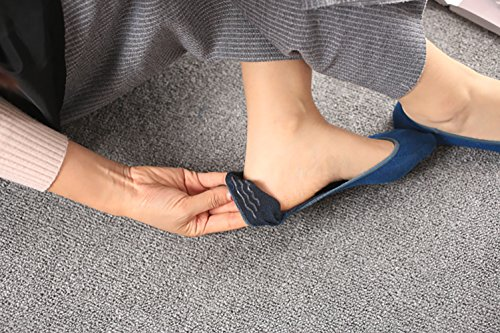 Women No Show Socks Cotton Liner Socks Non-Slip No Show Socks Low Cut Boat Socks 5-Pairs by Ayiran (Image #5)