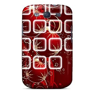 Flexible Tpu Back Case Cover For Galaxy S3 - Christmas