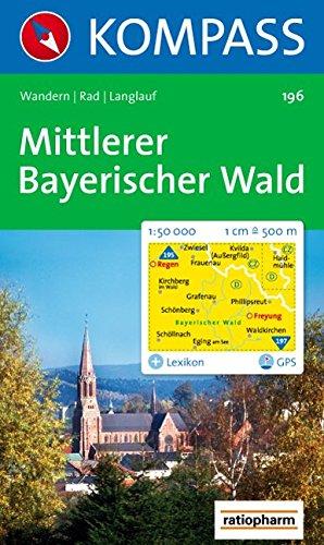 Mittlerer Bayerischer Wald. 1:50.000. GPS-genau
