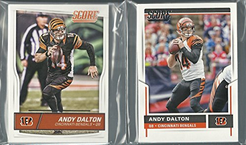 2016 & 2017 Panini Score Football Cincinnati Bengals 2 Team Set Lot Gift Bag Pack 31 Cards - Bengals Card