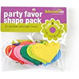 "Bloomin Seed Paper Shapes Packs - Heart Shapes - 25 Shapes Per Pack - 2.3x1.8"" {Color Mix}"