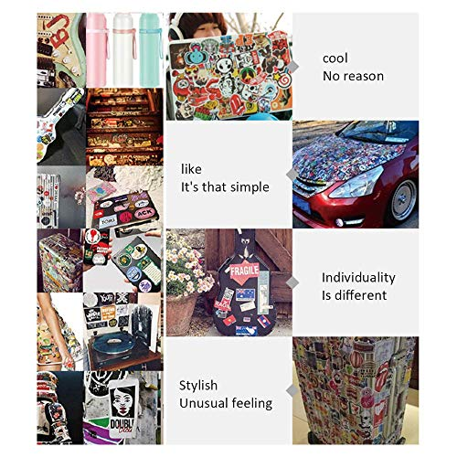 Directtyteam 100 PCS Fresh Vine Stickers Pack, Vsco Stickers Pack for Water Bottles Laptop Waterproof Aesthetic Vinyl Decals Stickers for Adults,Kids
