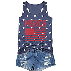 Printed Sleeveless Casual T-Shirt