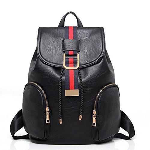 Y&F Frau Reisetasche Rucksack Schultertaschen Handtasche schwarz 32 * 14 * 27
