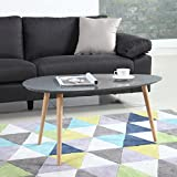 Mid Century Modern Colorful Coffee Table (Grey)