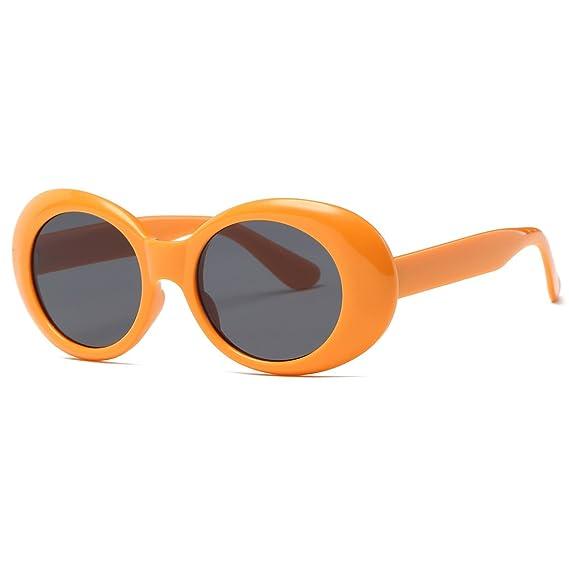 kimorn Clout Goggles gafas de sol para mujer Ovaladas marco Bisagras de metal Gafas K0567