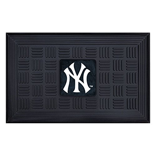 FANMATS MLB New York Yankees Vinyl Door Mat (Mlb Mat Floor Rubber)