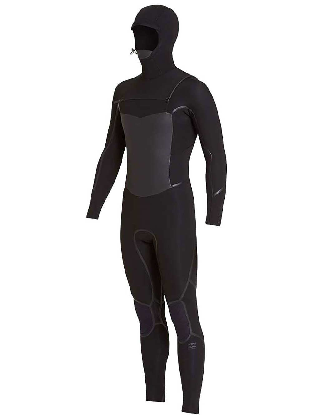 BILLABONG Furnace Absolute X Hooded Hooded Hooded 5   4MM Winterkälte Brust Zip Neoprenanzug Schwarz - Easy Stretch Thermoofenfutter B07CQGFMYV Neoprenanzüge Online a77d1b