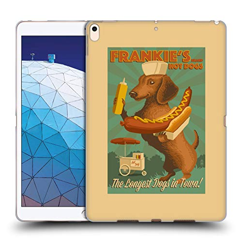 Official Lantern Press Frankie's Dog Collection Soft Gel Case Compatible for iPad Air (2019)