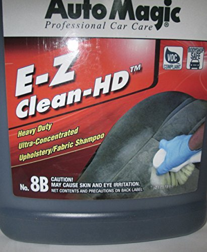 Auto Magic EZ-CLEAN HD, Upholstery Shampoo super concentrate, 1 GAL