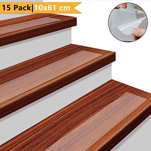 YISUN 15-Pack Non Slip Stair Treads 24