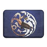 Personalized Indoor Or Outdoor Doormat - Daenerys Targaryen Kitchen Doormat Bath Mat, Non-slip And Thin Design, Size 40X60CM