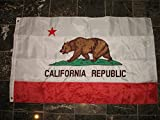 Embroidered Double Sided 2ply Solarmax Nylon 3×5 3ft x 5ft California Flag House Banner Review