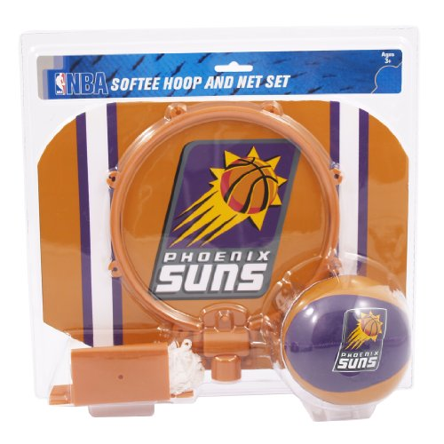 NBA Phoenix Suns Slam Dunk Softee Hoop Set (Set Phoenix)