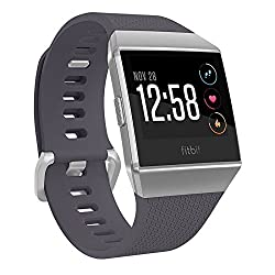 Fitbit Ionic Smartwatch, Blue-graysilver, One Size (S & L Bands Included)