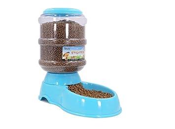 Comedero Automático para Perros, Gatos y Mascotas, Dispensador de Comidas WS-002, Blue: Amazon.es: Deportes y aire libre
