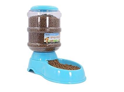 Comedero Automático para Perros, Gatos y Mascotas, Dispensador de Comidas WS-002,