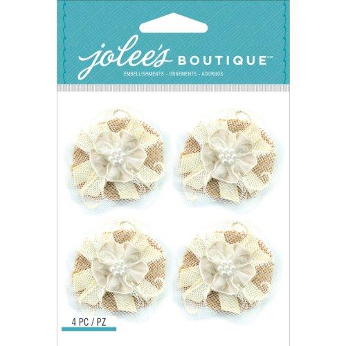 Jolee's Boutique Dimensional Stickers, Lace Flowers ()
