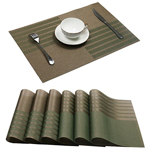 Placemats Uartlines New grid Insulation Stain resistant product image