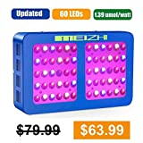 MEIZHI 300W 450W 600W 900W 1200W LED Grow Light Reflector Series Full Spectrum for Indoor Plants Veg Flower, Dual Growth and Bloom Switches 300W led Growing Lamp, replace other brands 600W grow lights