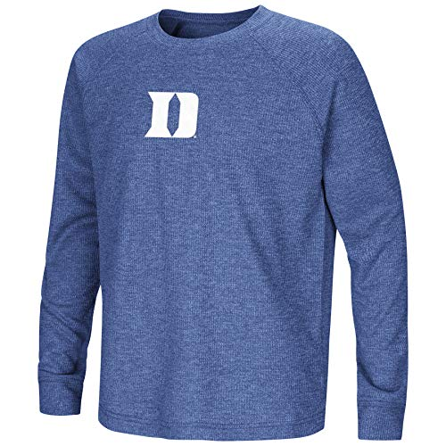 Colosseum Duke Blue Devils Youth Boys Viper Vennaro L/S Raglan Tee (L 16/18)