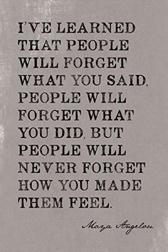 I've Learned That People Will Forget , motivational poster