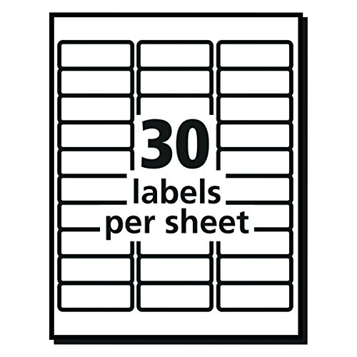 avery 5260 labels