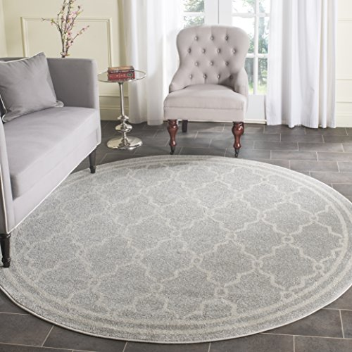 9 Ft Round Outdoor Rugs - 1