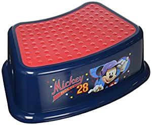 Disney mickey mouse all star step stool blue baby - Mickey mouse stool ...