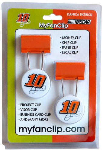 NASCAR Danica Patrick MyFanClip Multipurpose Clips (Pack of (Nascar Stocking)