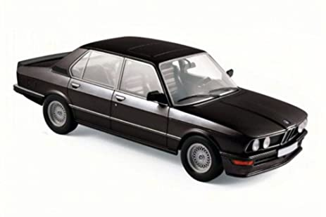 Amazon.com: 1980 BMW M 535i, Black - Norev 183264 - 1/18 Scale ...