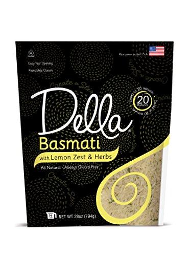 Della Rice Jasmine With Roasted Garlic