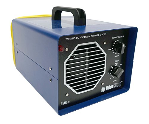OdorStop OS3500UV Ozone Generator with UV, Blue