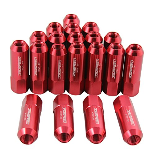 Red Tuner Lugs Nuts - 3
