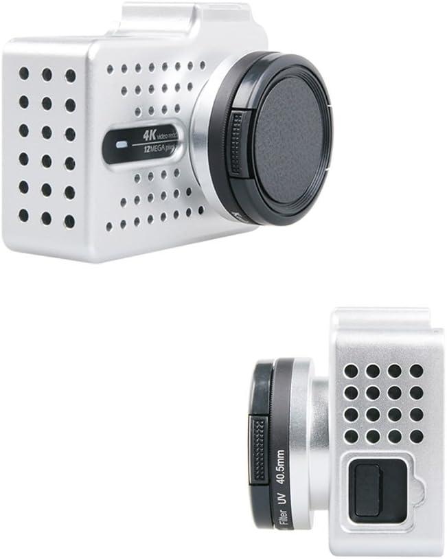 UV Lens Set For Xiaomi Yi 2 4K Camera Meijunter Black CNC Aluminum Protective Shell Housing Case