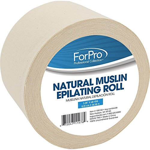 For Pro Unbleach Muslin Roll (Pro Muslin)