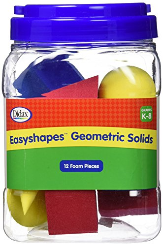 Didax Educational Resources Easyshapes Geometric Solids Set
