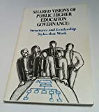 Shared Visions of Statewide Higher Education Structures : Leadership Styles and Organizations That Work, Schick, Edgar B., 0880441321