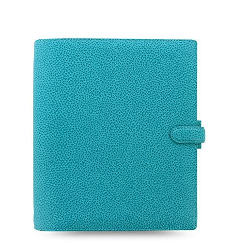 color azul tama/ño A5 Filofax Finsbury Organizador