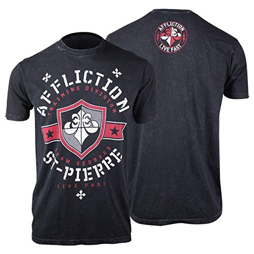 - Affliction Team St. Pierre Shirt (Black, X-Large)