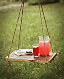 Outdoor hammock table - Hanging Table made from Reclaimed Wood