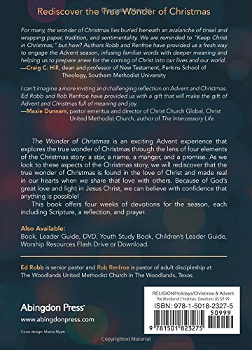 The wonder of christmas devotions for the season once you believe the wonder of christmas devotions for the season once you believe anything is possible wonder of christmas series ed robb rob renfroe 9781501823275 fandeluxe Images