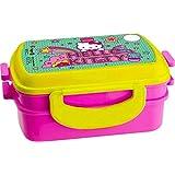 Sanrio Hello Kitty Double Layer Lunch Box, 71mm, Multi