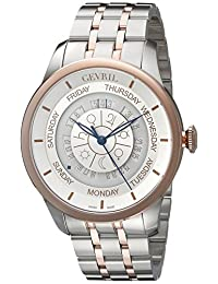 Gevril Men's 2003B Columbus Circle Analog Display Automatic Self Wind Two Tone Watch