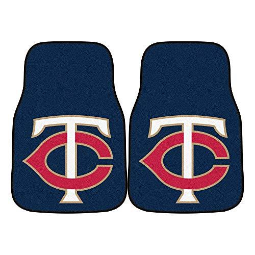 FANMATS MLB Minnesota Twins Nylon Face Carpet Car -