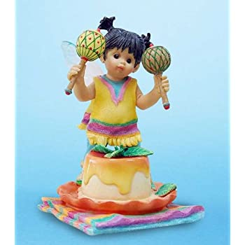 Amazon.com: Enesco My Little Kitchen Fairies Fairie With Shrimp ...