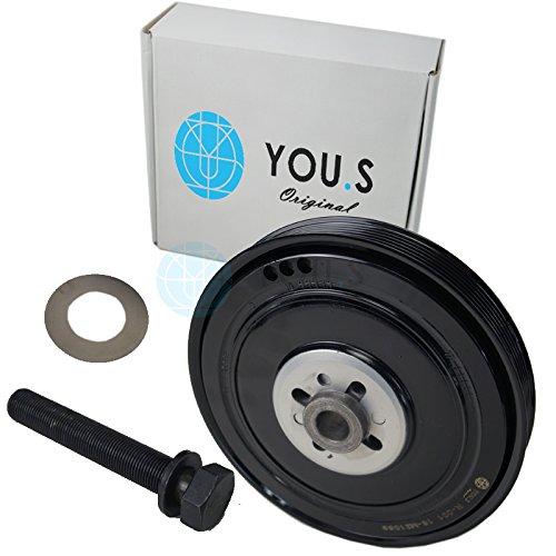 Riemenscheibe für Kurbelwelle für AUDI VW VOLVO 2.5 TDI 074105251N