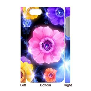 Petals Customized 3D Cover Case for Iphone 4,4S,custom phone case ygtg516829