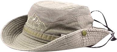 Cappello da Pescatore Uomo Donna Berretti Visiera di Spiaggia