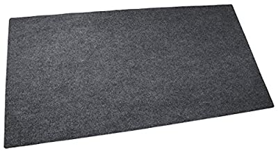 "Drymate Gas Grill Mat, Premium BBQ Grill Mat - 30"" x 58"" - Size Extra Large Grill Pad - Contains Grill Splatter And (Protects Surface) by Drymate"